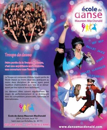 danse danse - Commission scolaire des Hautes-Rivières