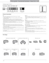 Price guide - Functional furniture - Steel 4.0 - 5.0 - 1st Choice Office ...