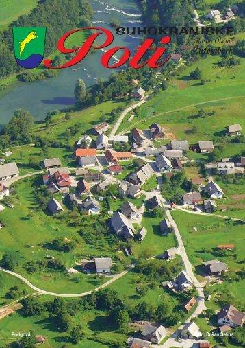 Suhokranjske poti, oktober 2008 - Občina Žužemberk