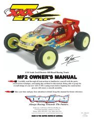 XXX-T MF2 Manual - Robitronic