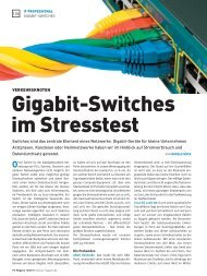 Gigabit-switches im stresstest - ZyXEL