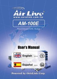 AM-100E - AirLive