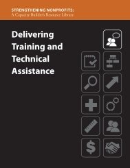 Delivering Training and Technical Assistance - Administration for ...