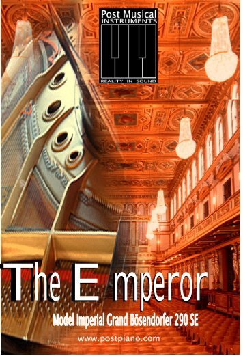 EMPEROR manual.pdf - Post Musical Instruments