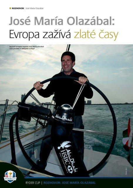 José María Olazábal: Evropa zažívá zlaté časy - Golfplus Media