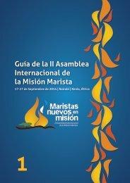 Guía de la II Asamblea Internacional de la Misión Marista
