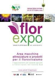 Area macchine attrezzature e prodotti per il florovivaismo - Senaf