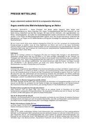 PRESSE MITTEILUNG - PressPage