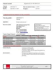 Fiche de sécurité - Buttschardt Electronic AG
