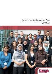 Comprehensive Equalities Plan 2009-12 - Slough Children's ...
