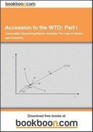 Accession to the WTO: Part I Language English Format ... - Tutorsindia
