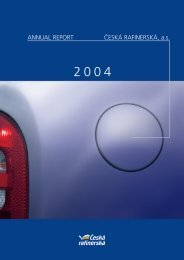 Annual report 2004 - Česká rafinérská, as