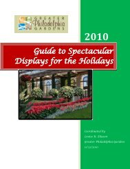 Guide to Spectacular Displays for the Holidays - Greater ...