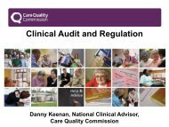 Clinical Audit and Regulation - HQIP
