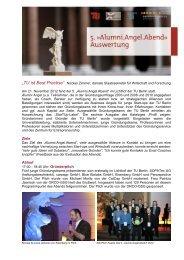 Auswertung des Abends (PDF, 1,0 MB) - Gründungsservice - TU Berlin