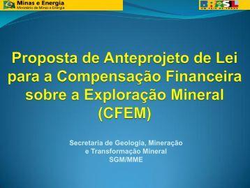 produto mineral padrão