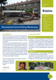 GEMBUSSUM Nieuwsbrief 4 Westereng.indd - Gemeente Bussum