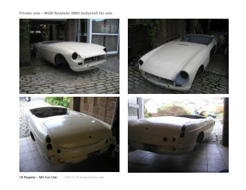 120717 V8 bodyshell for sale.pdf - V8 Register