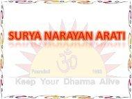 Jai Surya Bhagwan - Shri Surya Narayan Mandir