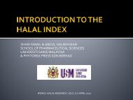 zhari ismail & abdul halim ihsan school of pharmaceutical sciences ...