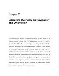 Chapter 2 Literature Overview on Navigation and Orientation - etc