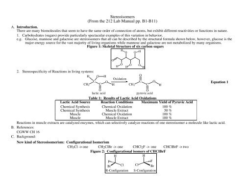 Lab Manual Appendix Activity Sheet - Moravian College Chemistry ...