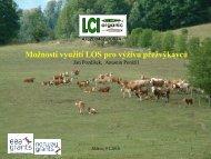 Možnost využití LOS pro výživu přežvýkavců (Pozdíšek, Ponížil)