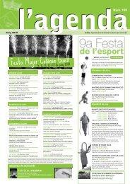 Juny [109 - pdf 446 Kb] - Ajuntament de Santa Coloma de Cervelló