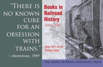 """""""There is no known cure for an obsession with trains."""" - The Johns ..."""