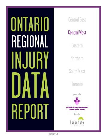 Central West Region - Ontario Injury Prevention Resource Centre