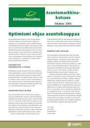 Optimismi ohjaa asuntokauppaa - Rakentaja.fi