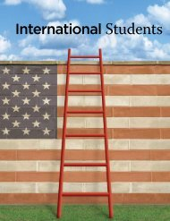 International Students - National Foundation for American Policy