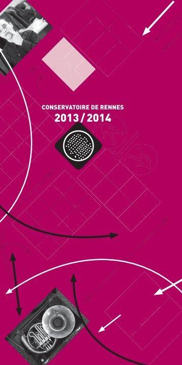 Dominante chorégraphique - Conservatoire de Rennes - Ville de ...