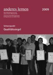 2009 - Landesarbeitsgemeinschaft anderes lernen - T-Online