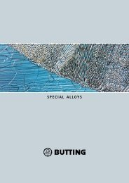 Special alloyS - Butting GmbH & Co. KG