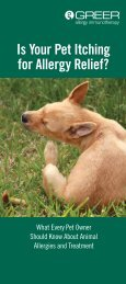 Is Your Pet Itching for Allergy Relief? - Greer