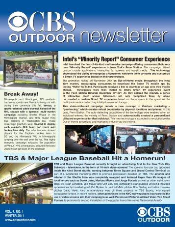 Winter 2011 - CBS Outdoor