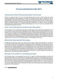 BESUCHSBERICHT - Volksbank Wien