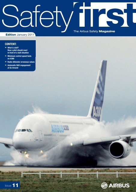 January 2011 Issue 11 Uk Flight Safety Committee