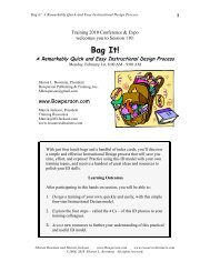 Bag It! - Sharon Bowman