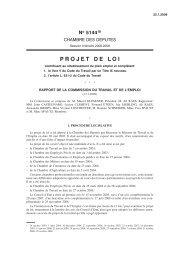 PROJET DE LOI - Pactes Locaux