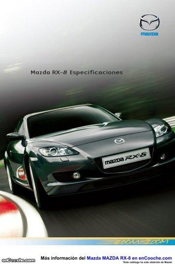 Ficha Mazda RX8 - enCooche.com