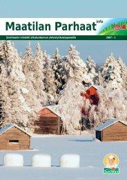 Maatilan Parhaat info 1 / 2007 - Snellman