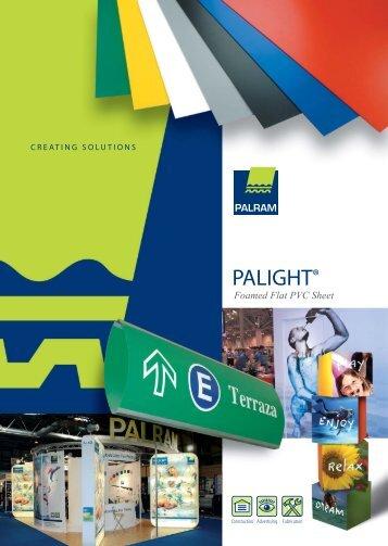 Palight PVC Foam Brochure - Mulford Plastics