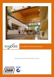 Featuring Plywood in Buildings - Engineered Wood Products ...