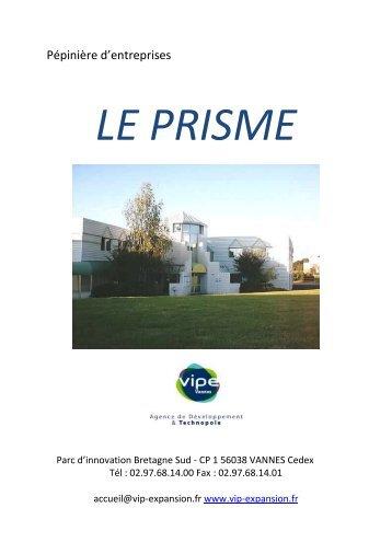 Télécharger la brochure le PRISME - Vannes Agglo