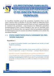 Prestations familiales 2010 - Eures