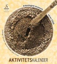 aktivitetskalender - Arkeologisk museum