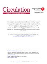 Long-Term Safety and Efficacy of Drug-Eluting Stents Two-Year ...
