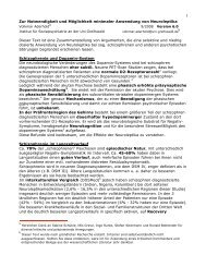 Aderhold Neuroleptika minimieren 6.0 - BGSP
